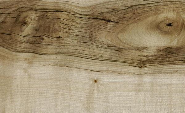 H-18/O Holz: Bergahorn, geölt